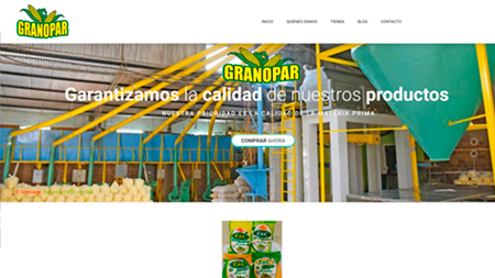 Granopar - Clientes IT Creativos